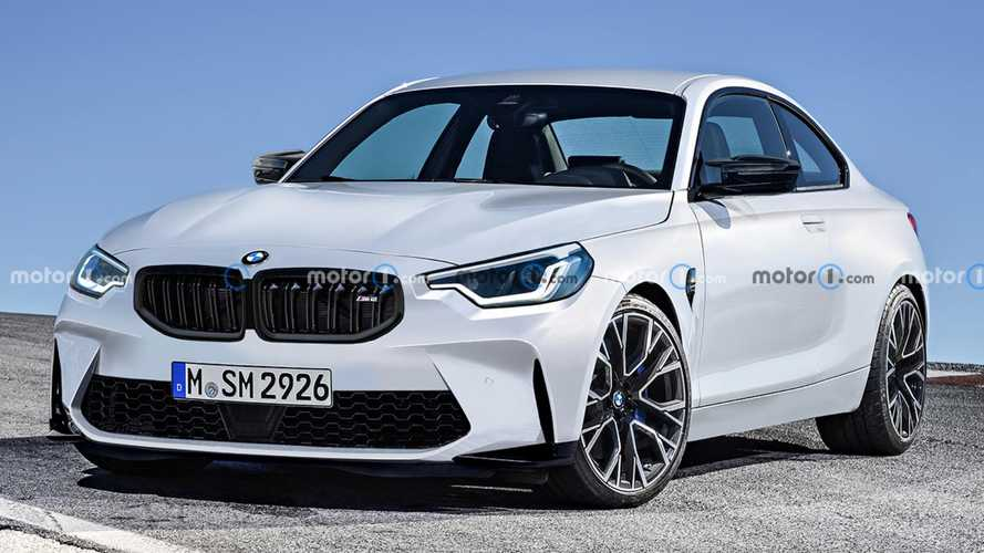 New BMW M2 rendered after the first spy photos