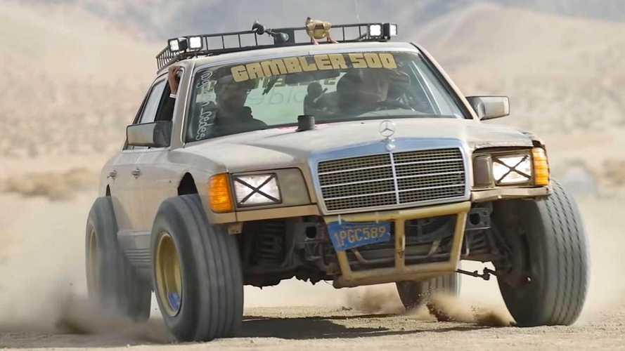 Quanto costa trasformare una Mercedes del 1982 in un fuoristrada?