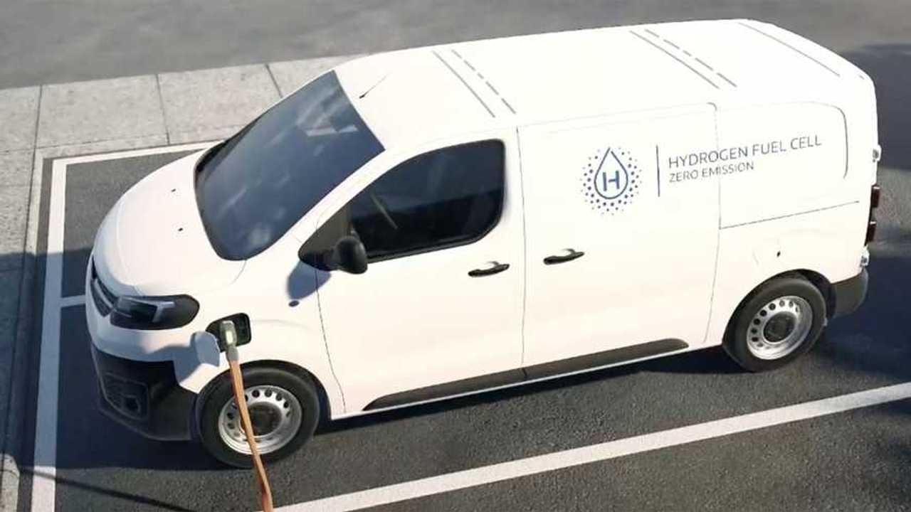Stellantis, la sua idea di furgone a Idrogeno