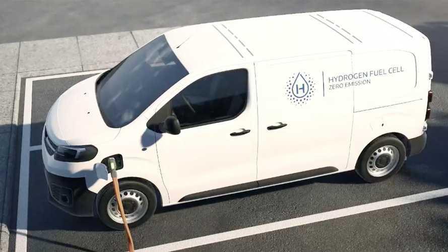 Stellantis presenta ufficialmente il suo furgone a idrogeno