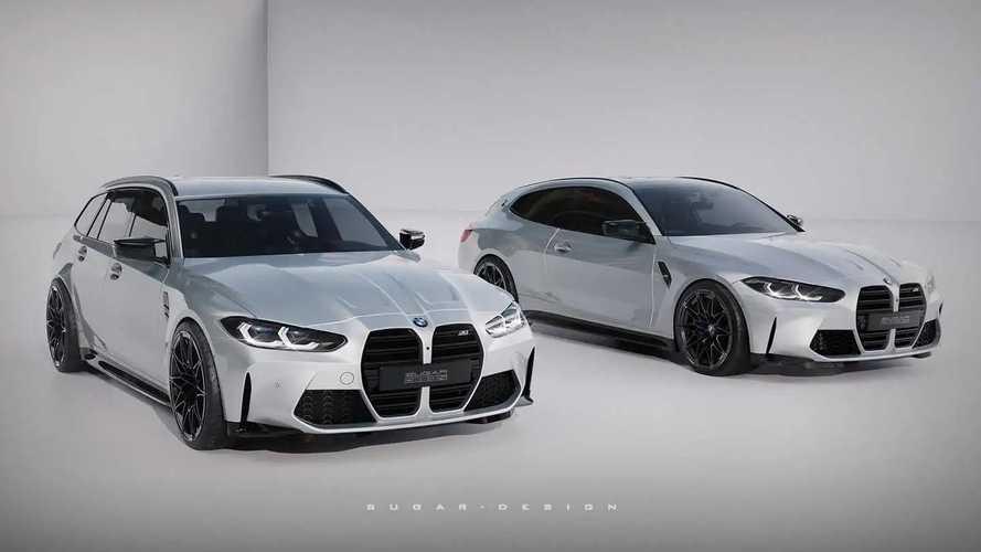 BMW M3 Touring y M4 Shooting Brake, recreaciones