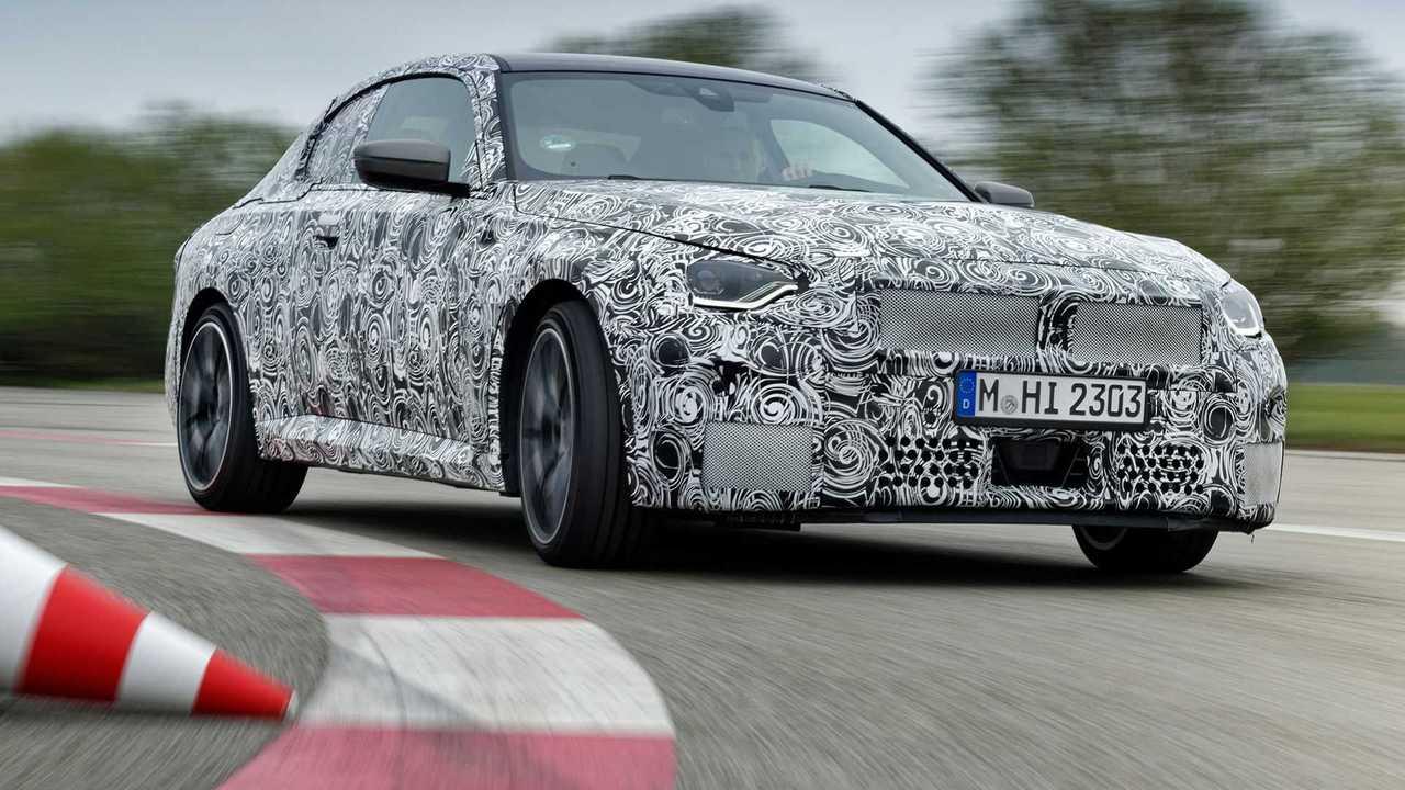 Essai BMW Série 2 prototype