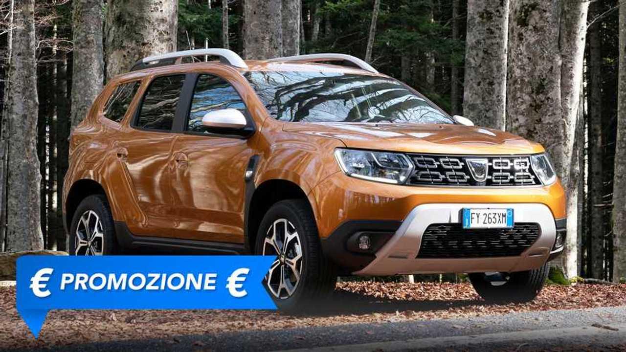 Dacia Duster GPL, promozione maggio 2021
