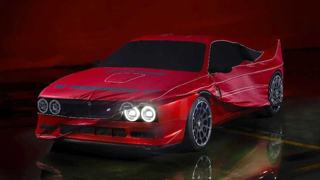 Ein erstes Teaserbild des Kimera Automobili Evo37