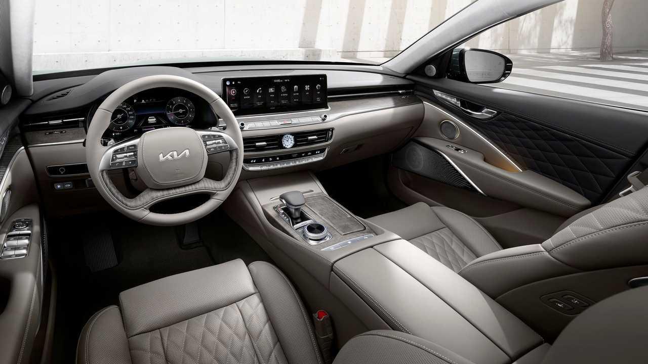 2022 Kia K9 facelift (KDM)