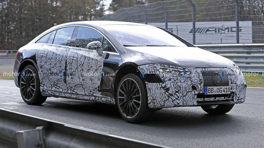 Mercedes-AMG EQS casus kameralara yansıdı!