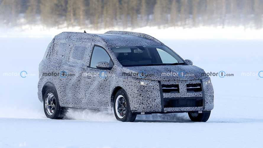 La Dacia Logan MCV se prépare sous la neige