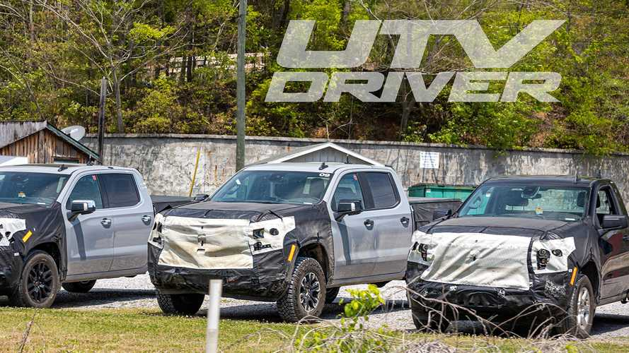 2022 Chevy Silverado ZR2 Spy Shots Show An Off-Road-Ready Pickup