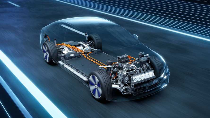 Mercedes-Benz EQS, фото прототипа и технические детали