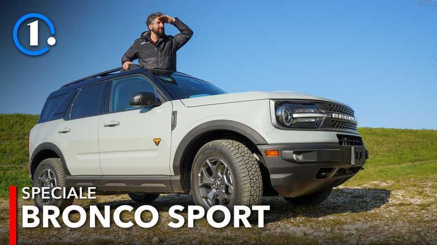 Ford Bronco Sport, la prova per capire se l'Italia potrebbe amarla