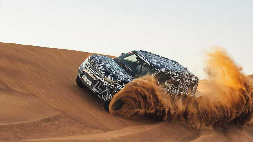 La Croix Rouge découvre le nouveau Land Rover Defender