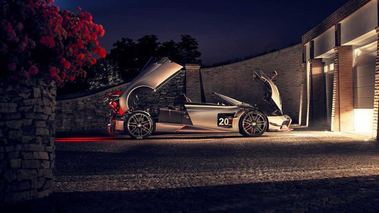 Pagani Huayra Roadster Bc Is A Crazy Expensive 800 Hp Hypercar