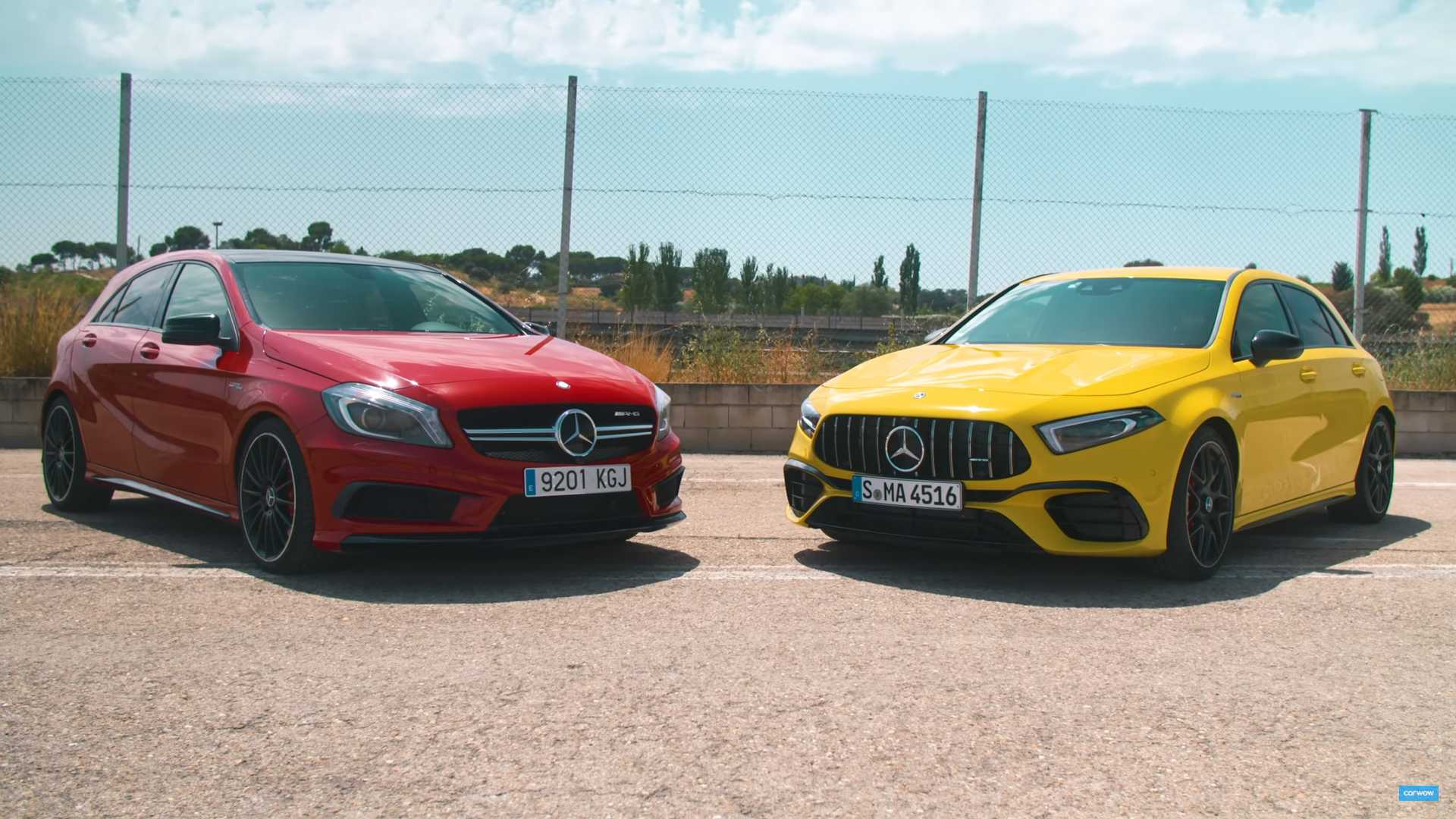 See How The Mercedes Amg A45 S Stacks Up Against Its Predecessor