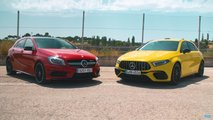 Mercedes-AMG A45 old vs new