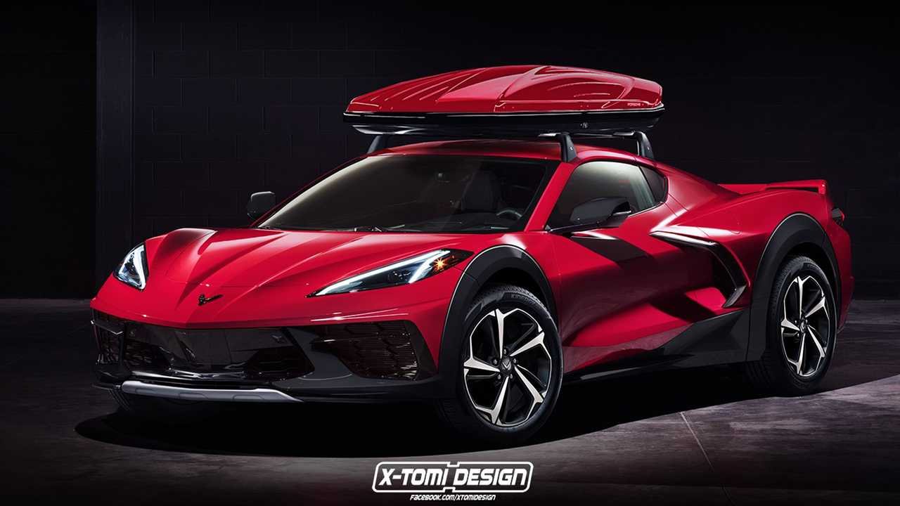 Chevrolet Corvette 4x4 Rendering