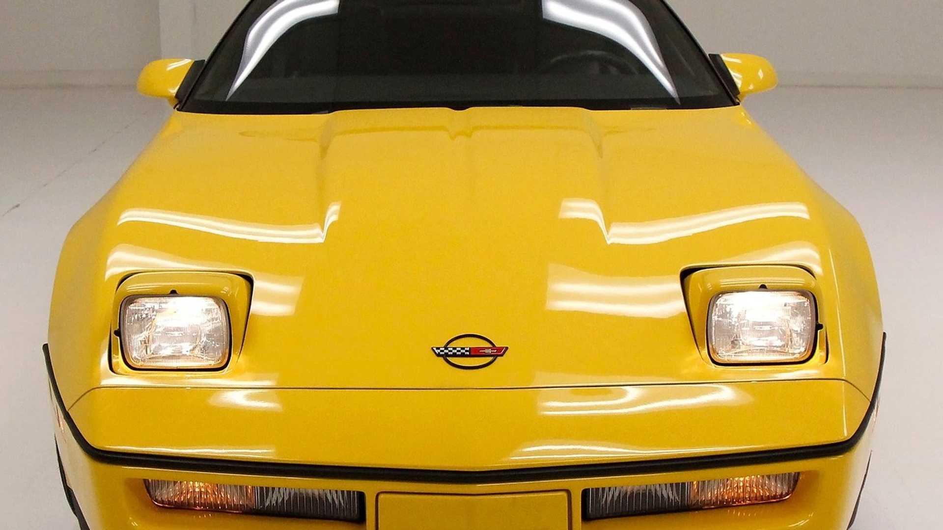 "[""Own A Proper Yellow 1986 Chevrolet Corvette Indy Pace Car""]"
