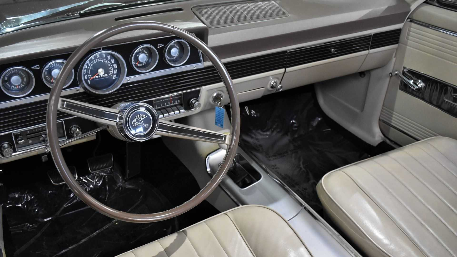 "[""Slip Inside This Rare 1966 Mercury Comet Cyclone""]"