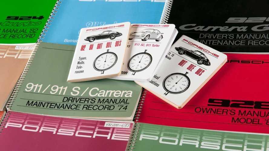 Porsche réimprime quelques-uns de ses manuels historiques