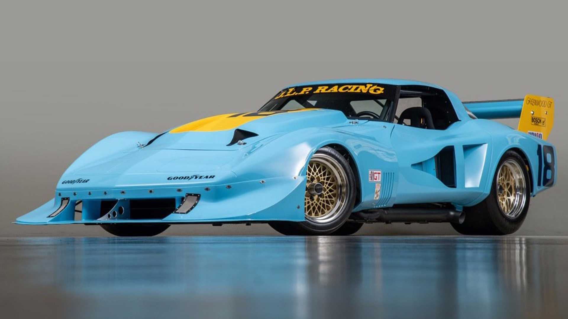 "[""Fully Restored 1 of 2 1977 Chevrolet Corvette IMSA SuperVette""]"