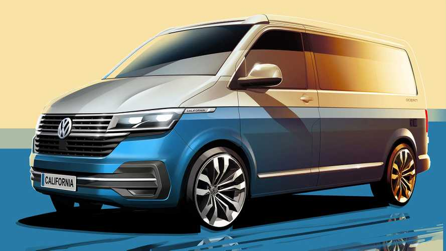 VW Transporter California 6.1 Camper Teased With Lots More Tech