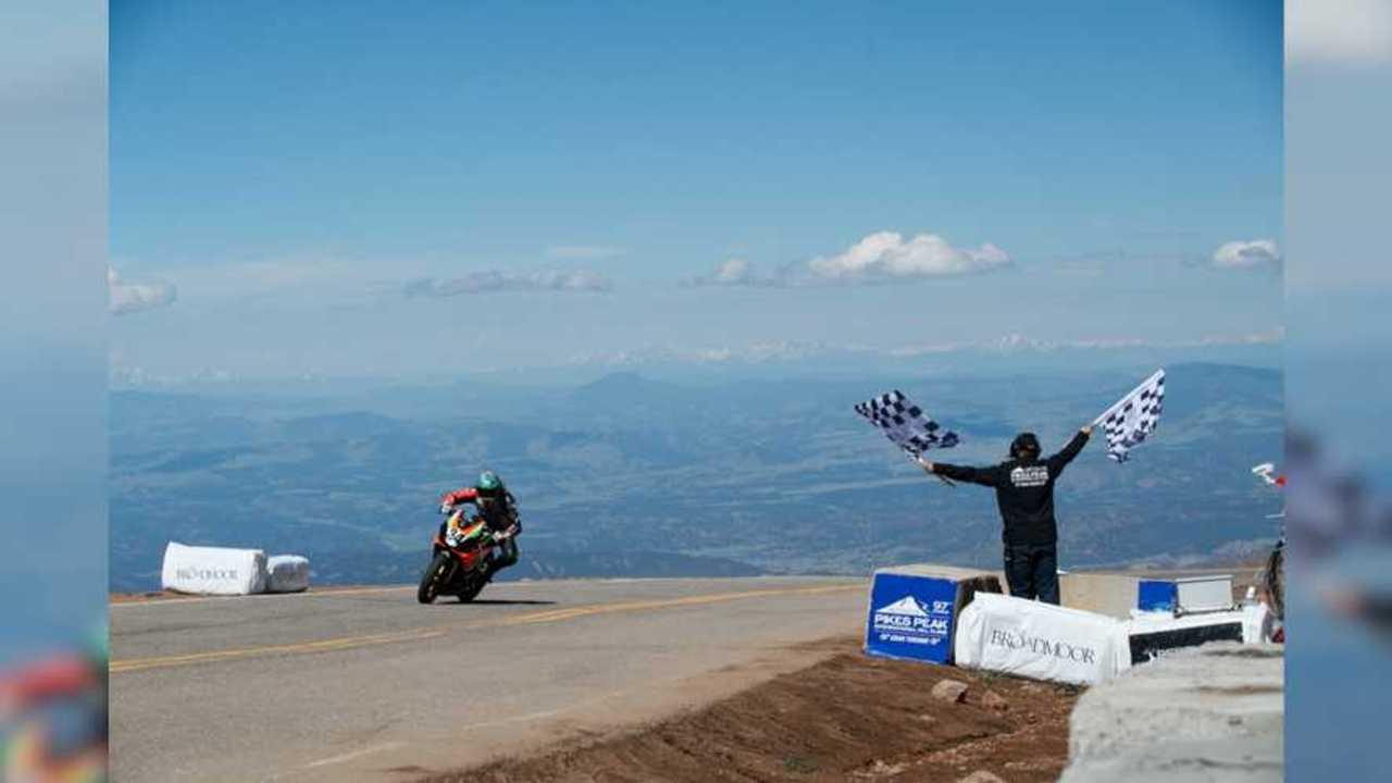 Aprilia Wins Heavyweight Category At Pikes Peak 2019