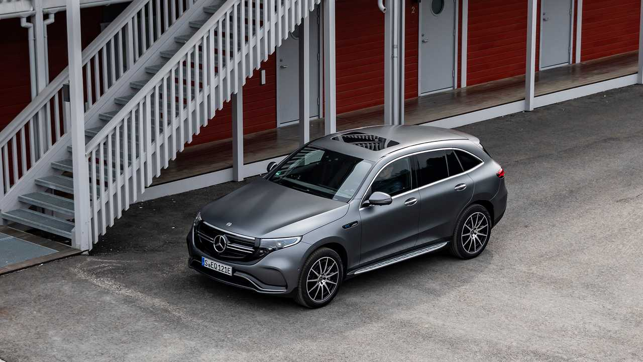 Mercedes-Benz EQC400 2020