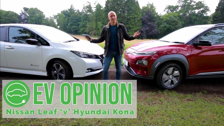 How Do The Nissan LEAF & Hyundai Kona Electric Stack Up? (Video)