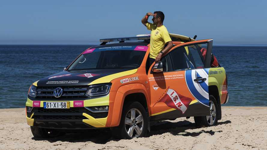 "Volkswagen Amarok ""SeaWatch"", un flotta speciale in Portogallo"