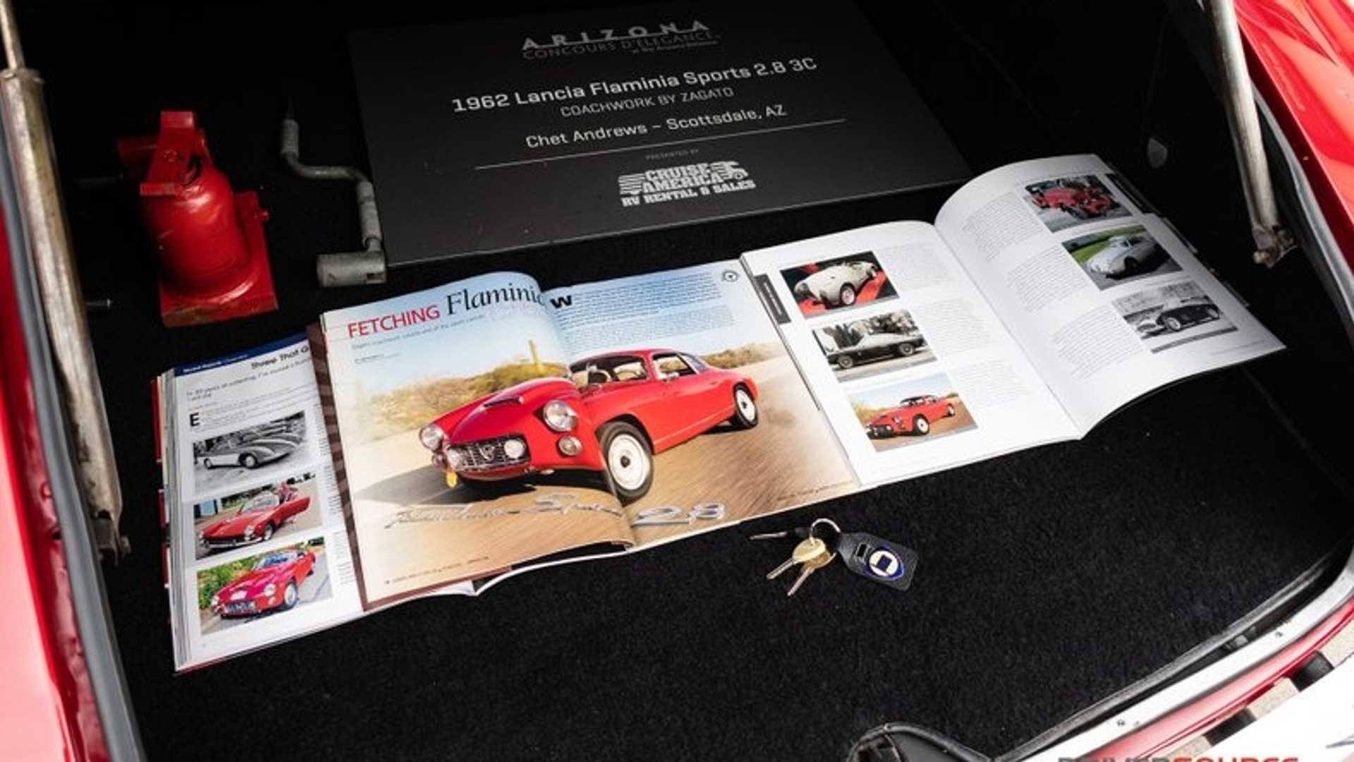 """[""""Incredibly Rare 1963 Lancia Flaminia Super Sport Could Be Yours""""]"""