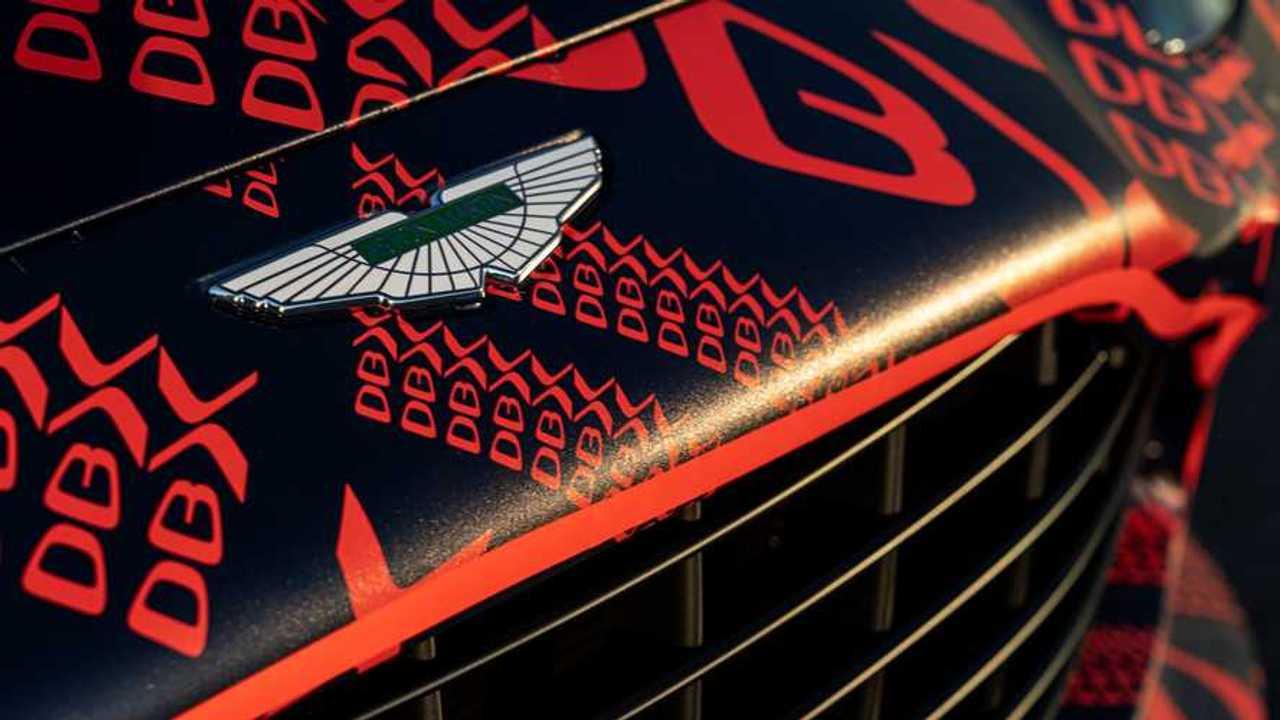 Aston Martin DBX Preproduction