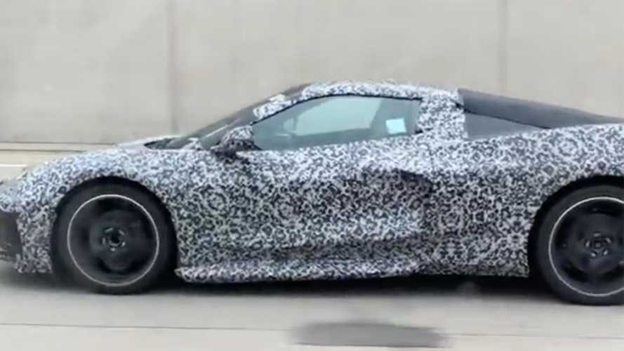 One Month To Go: Corvette C8 Spied En Route To Proving Grounds