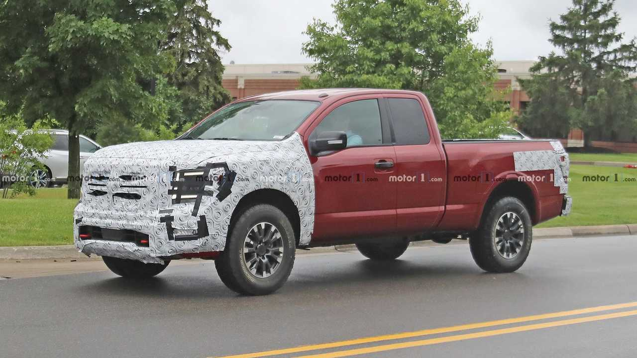 Nissan Titan Pro 4x Spied Under Development As Future Tough