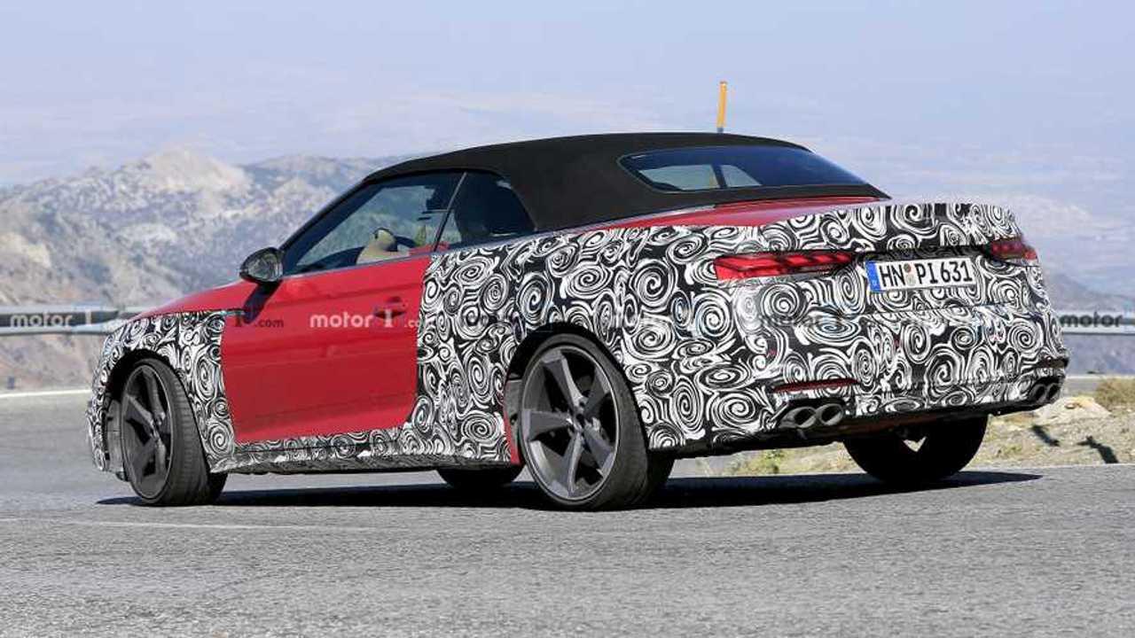 Audi S5 Cabriolet Spy Photo