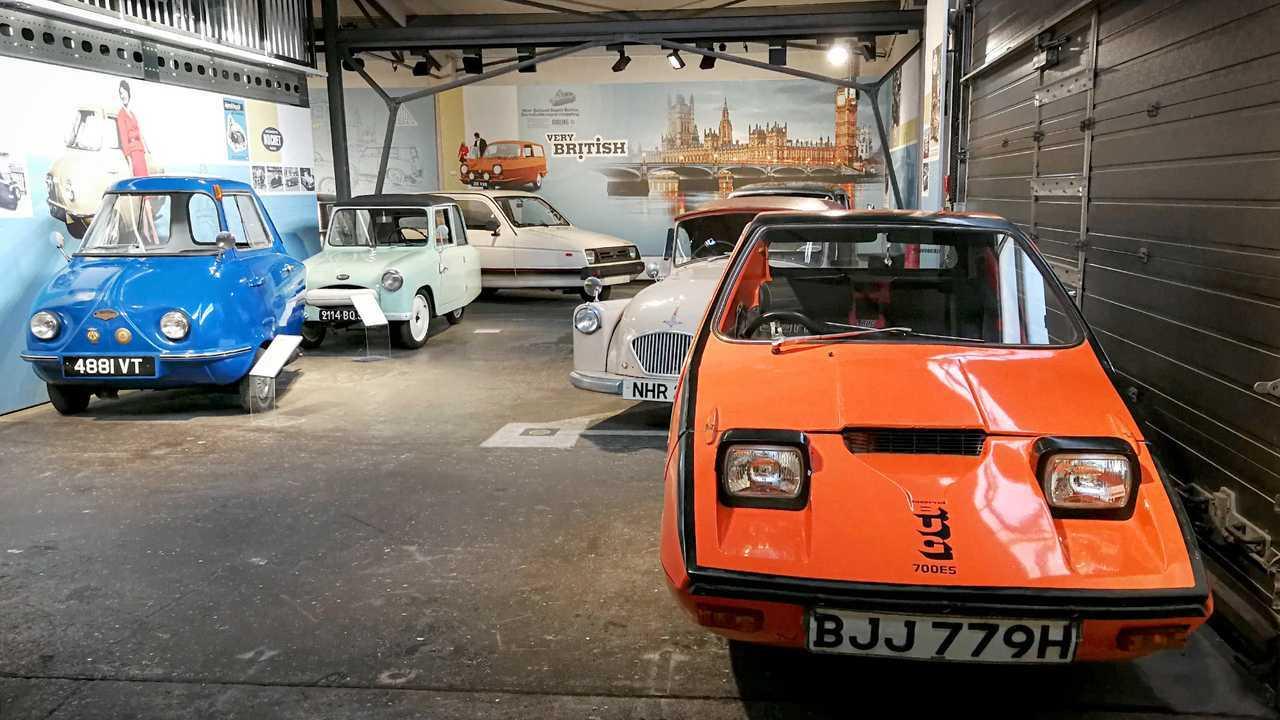 Kleinwagen-Ausstellung in Einbeck