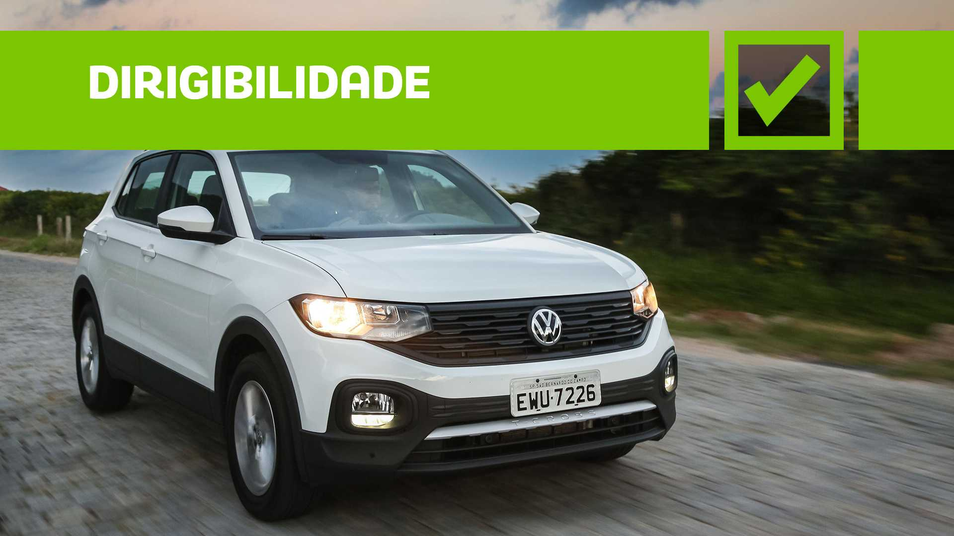 VW T-Cross 200 TSI MT - Teste