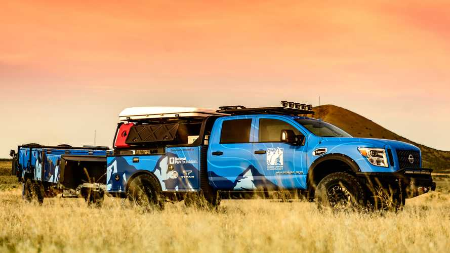 Nissan Ultimate Parks Titan Is Ready For Duty At The Grand Canyon