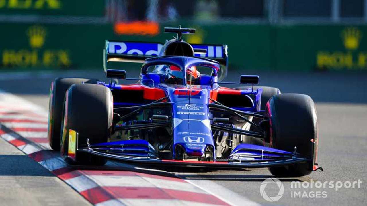 Daniil Kvyat at Azerbaijan GP 2019