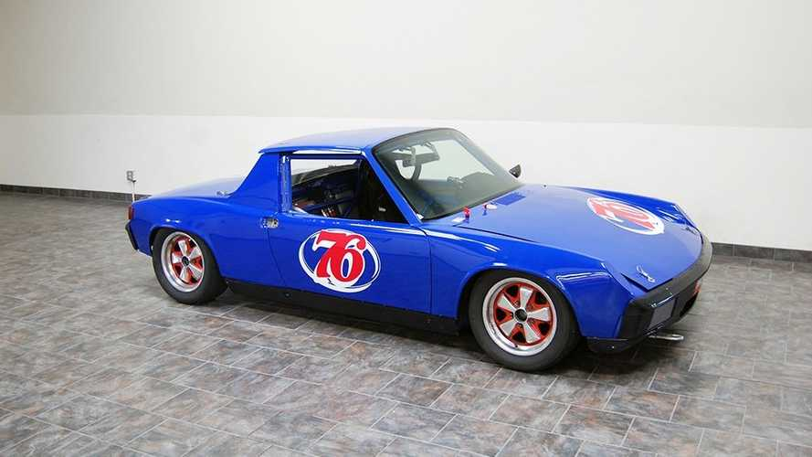 Hit The Track In This FIA Certified Porsche 914 Racer