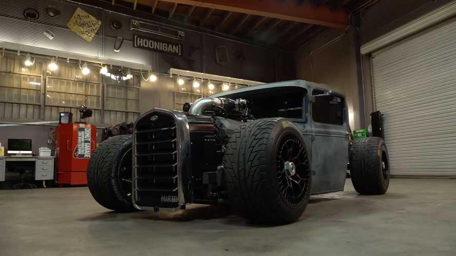 This 1931 Ford Model A Pickup Is Now A Bonkers 800-HP Hot Rod