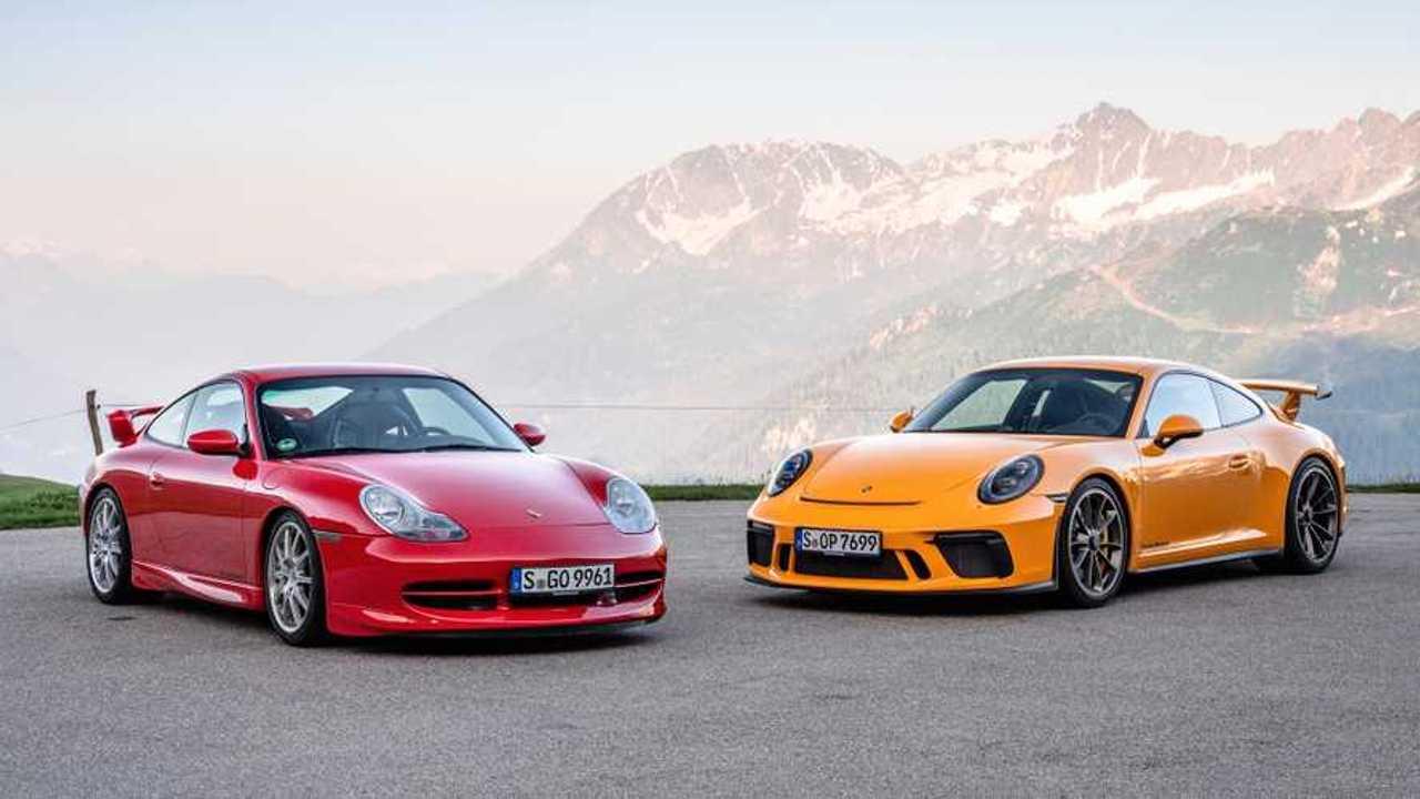 Porsche 911 GT3 generációk