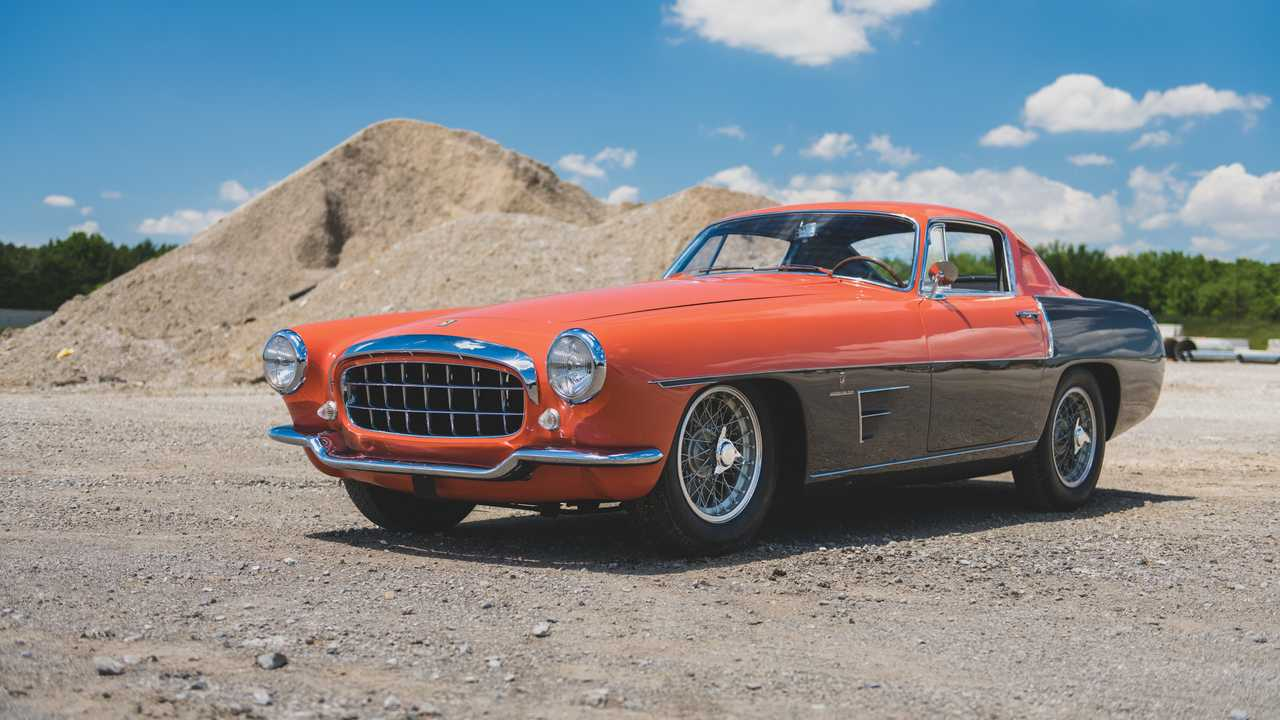 Ferrari 375 MM Coupé Speciale by Ghia
