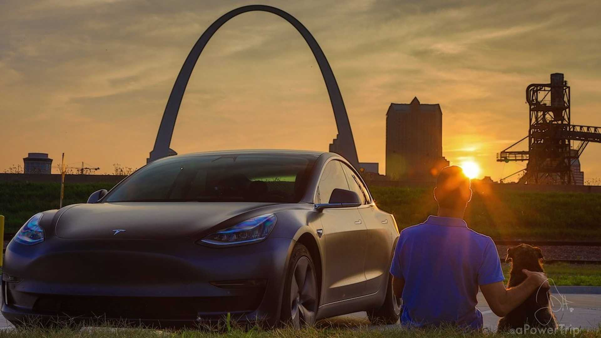A Tesla Model 3, Man's Best Friend, And A Full Summer Of Exploring