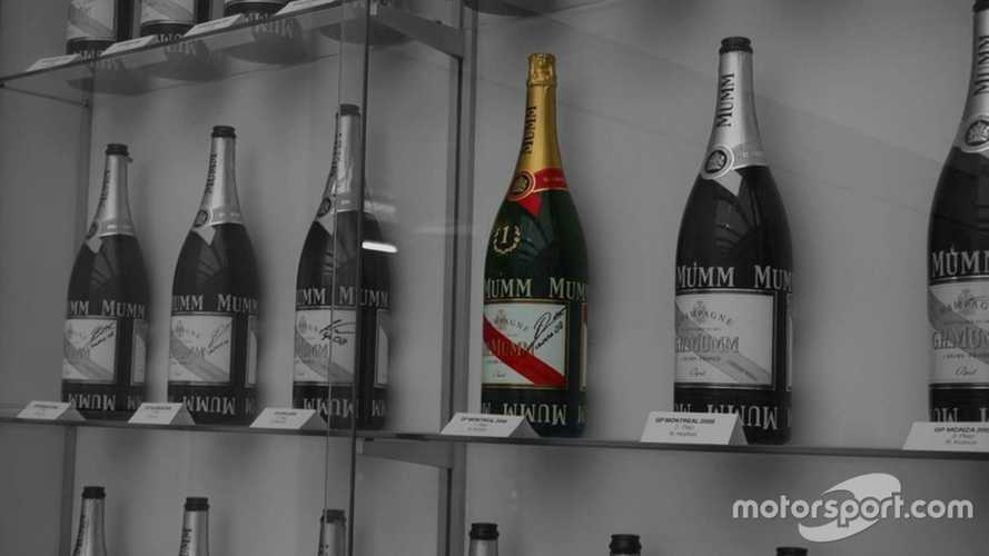 Alfa Romeo clears up myth behind Kubica's uncorked champagne