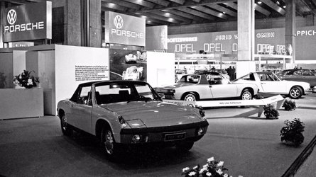 Porsche 914 50th anniversary celebrated at museum
