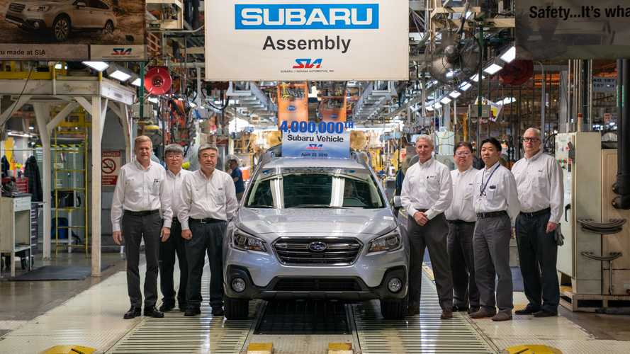 Subaru Celebrates 4 Millionth Car Built In The U.S.