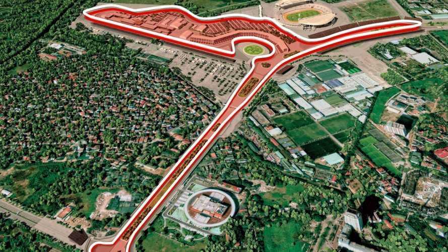Il primo giro virtuale sulla pista di F1 del GP del Vietnam