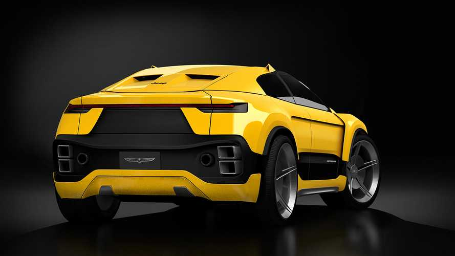 Jeep Trackhawk Coupe Render'lar