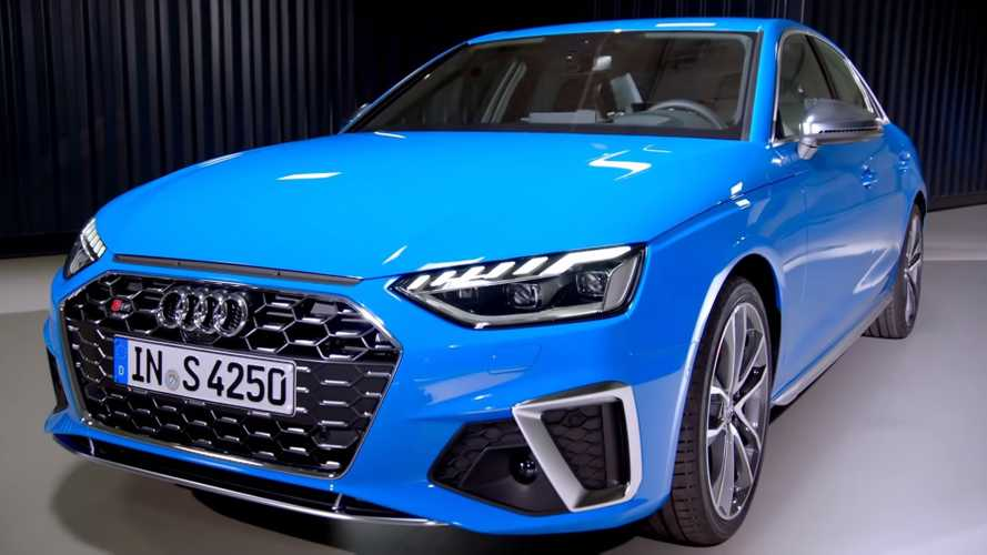 2020 Audi A4 / S4 Design Changes Explained In Walkaround Video