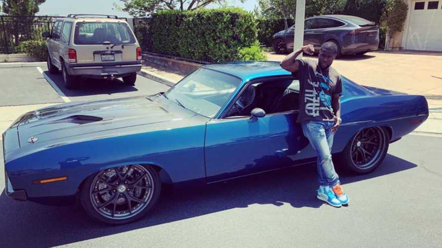 Kevin Hart Scores Menace '70 'Cuda Birthday Present