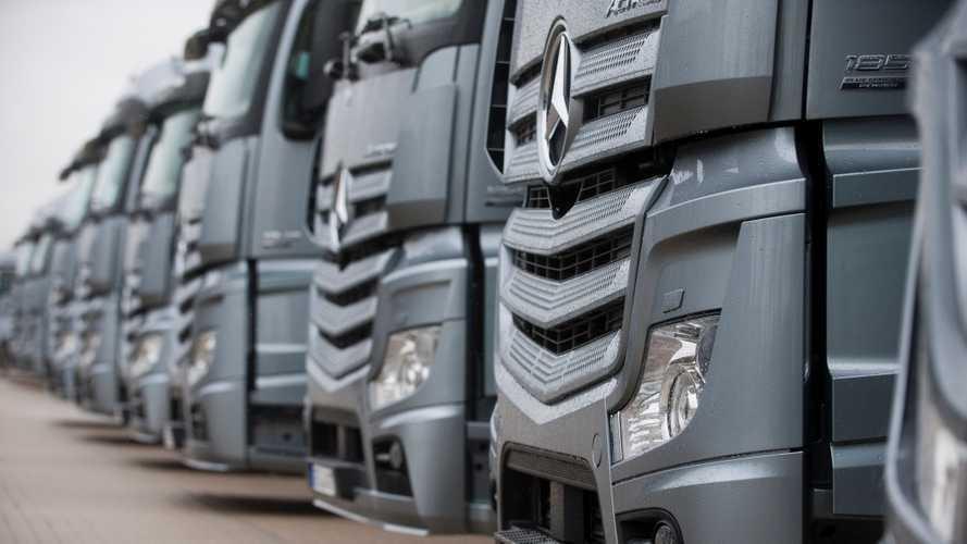 L'usato Mercedes-Benz Trucks viaggia senza pensieri